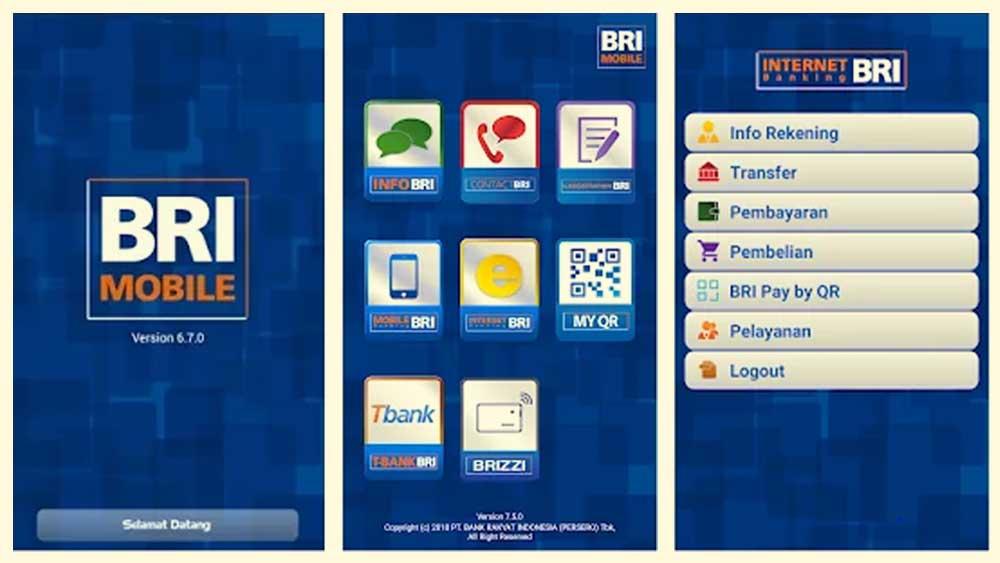Bayar Lewat BRI Mobile